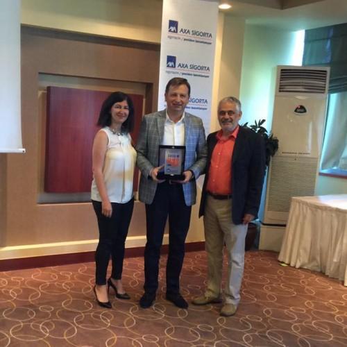 AXA Sigorta 2015 Yılı Ödülleri
