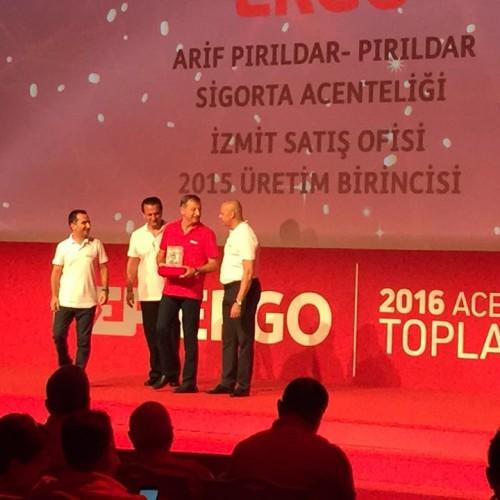 ERGO Sigorta 2016 Yılı Ödülleri